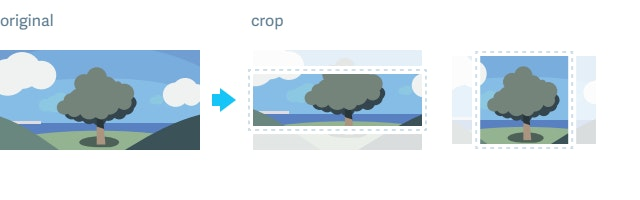 Example of how crop works