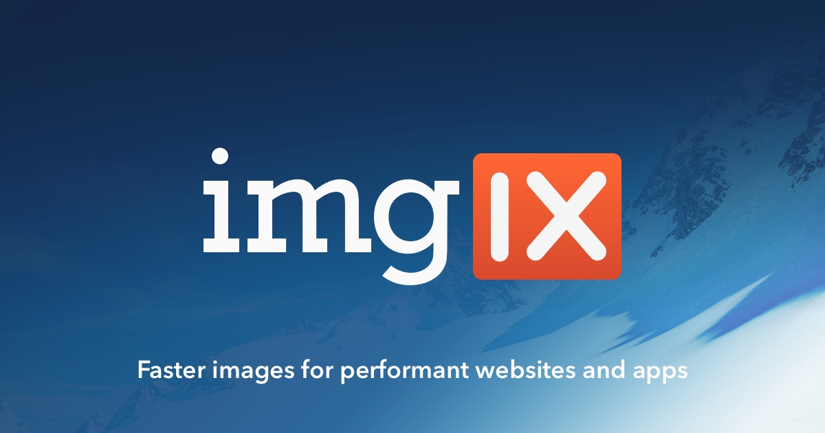imgix js • imgix • Real-time image processing and image CDN