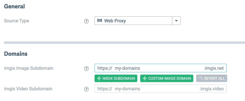 Screenshot-Web proxy source setup