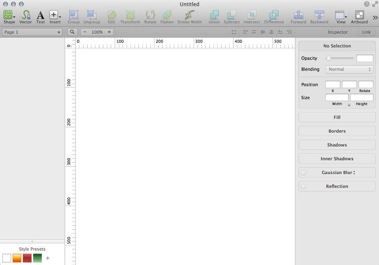 Document Setup
